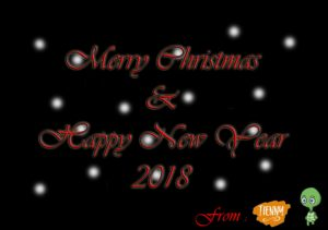 Merry Christmas & Happy New Year 2018