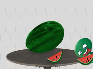Watermelon and Turtle
