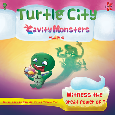 Turtle City : Cavity Monsters Front Cover