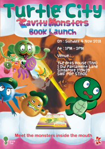Book Launch : Cavity Monsters Poster
