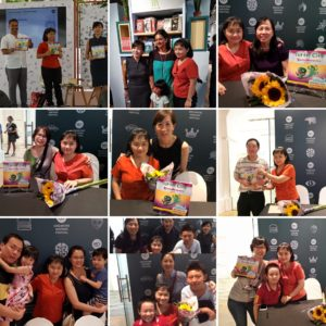 Summary Photo for Sun Flower from Teresa for Turtle City : Cavity Monsters Book Launch at Singapore Writers Festival