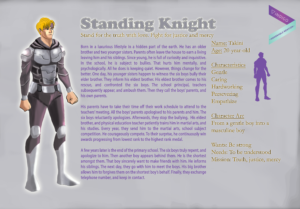 Standing Knight - Character Profile