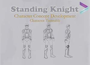 Standing Knight - Character Turntable