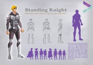 Standing Knight