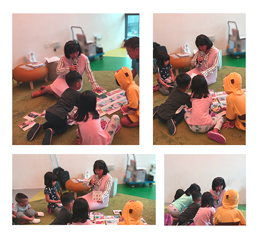 Storytelling at Tampines Regional Library