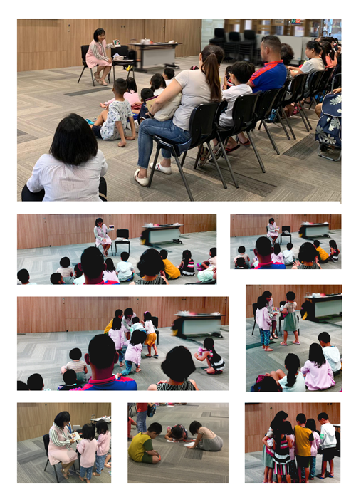 Turtle City : Cavity Monsters Storytelling Time at Toa Payoh Public Library
