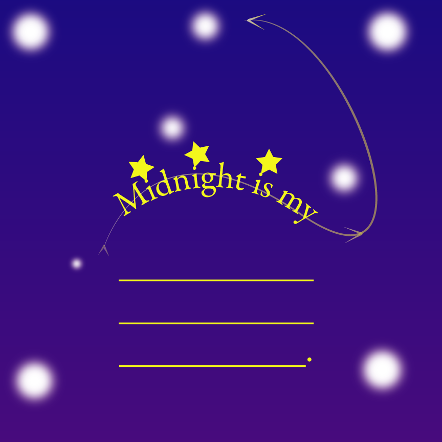 Midnight is my